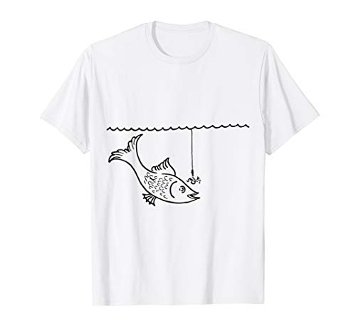 Fishing Bad Ending Funny Last Minute Halloween Costume Shirt