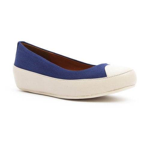 FitFlop Due Tm Canvas - - Mujer Azul