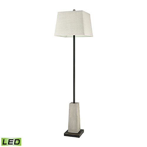 Concrete Blonde Outdoor Floor Lamp by AR Lighting