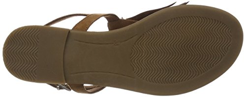 Marco Tozzi Women's 28119 Sling Back Sandals Brown (Nut 440) 4dNA4Oi