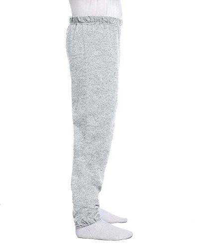 - Jerzees mens 8 oz. 50/50 NuBlend Fleece Sweatpants(973)-ASH-XL