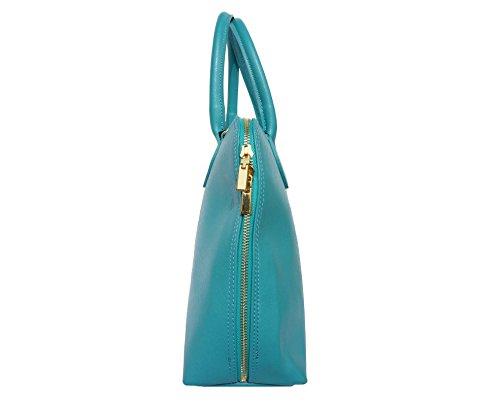 Market 308 Cartable Business Turquoise Cuir Pour Sac Leather En Florence Femme Saffiano CqwpvW5nU