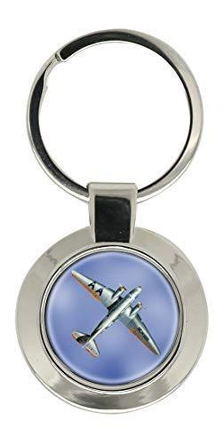 Douglas DC3 Dakota CROMADO LLAVERO: Amazon.es: Ropa y accesorios