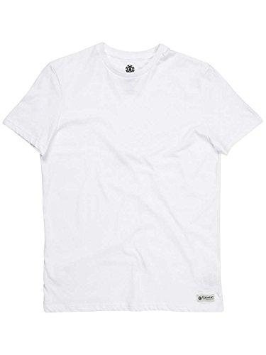 T-Shirt Element Sp16 Basic Crew Optic Bianco (Xs , Bianco)