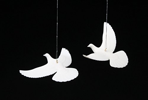 The DOVES from HOME ALONE 2 THE AUTHENTIC & ORIGINAL from John Perry (Porcelain Dove)