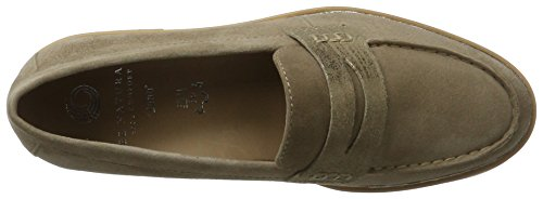 Be Natural Women's 24702 Loafers Beige (Lt. Taupe 347) EkLMZfHcN