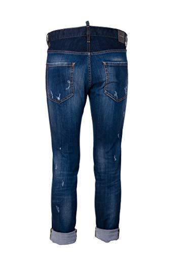 Cotone Blu Jeans Dsquared2 S74lb0349s30342470 Uomo wqtCaCnfIx