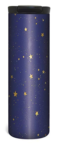 Stars Travel Mug - 17 Ounce Double Wall Vacuum Insulated Stainless Steel