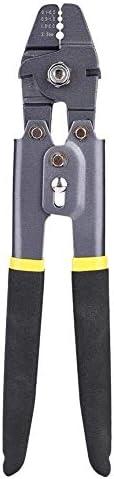 ZYL-YL クリンパ袖ツール、ステンレスクリンパスリーブツールワイヤーロープ快適な滑らかなハンドル付き海釣りナイロンワイヤークランプツールプライヤー用Swagerターミナルクリンパ