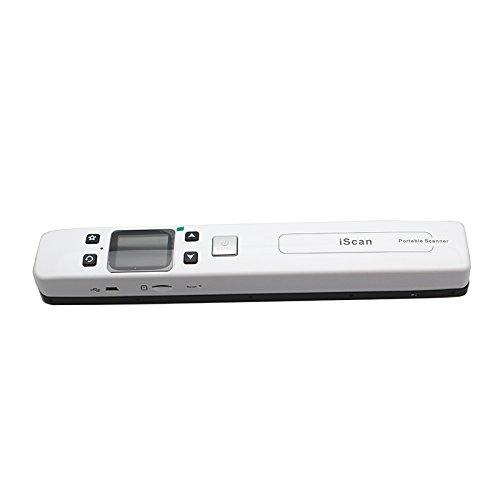 Mini Esc/áner port/átil Esc/áner de documentos de alta velocidad Esc/áner Pen 1050 DPI