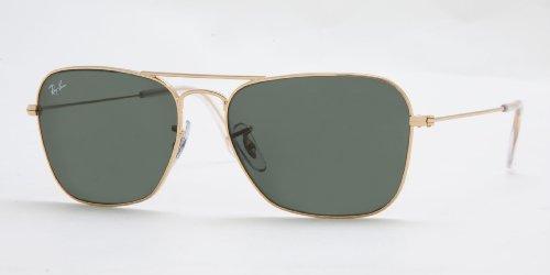 Ray-Ban RB3136 Caravan Icons Sports Sunglasses/Eyewear - Arista/G-15 XLT / Size ()