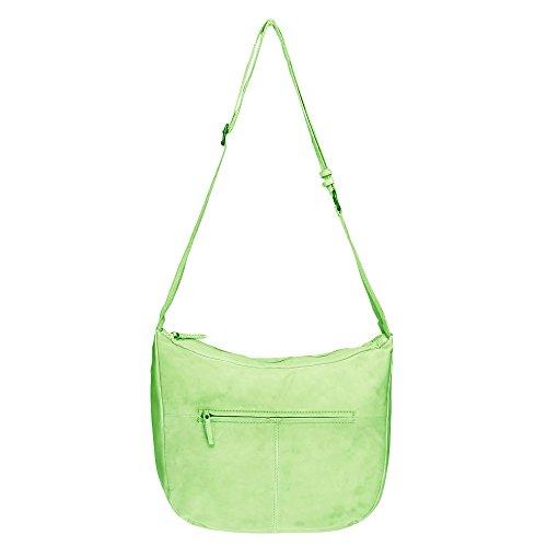 Voi 21083 - Bolso cruzados para mujer verde verde Talla única
