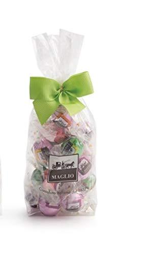 Maglio arte dolciaria, Boule de chocolates con leche y oscuri con pistacho, almendra y avellana 200g: Amazon.es: Alimentación y bebidas