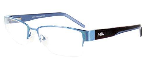 Aloha Eyewear Tek Spex 1004 Unisex Photo-Chromatic Progressive Bifocal Reader Glasses / Sunglasses (Blue - Sunglasses Bifocal Progressive