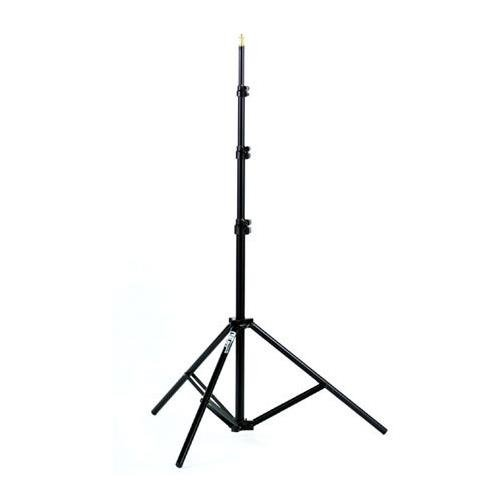 Smith Victor RS8, 8' Raven Lightstand with 5/8'' Mounting Stud, 4 Sections with 3 Risers, Black. by Smith-Victor