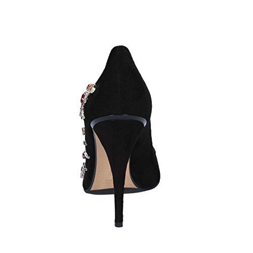 c3e7670b371 GIANNI MARRA Zapatos de Vestir de Ante Para Mujer Negro Negro De bajo costo