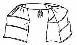 1760-1775 Pocket Hoops Sewing Pattern (Hancock Costume Patterns)