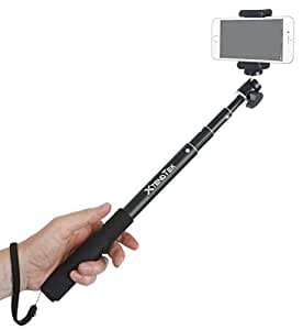selfie stick for gopro iphone and android smartphone digital camera and dslr a. Black Bedroom Furniture Sets. Home Design Ideas