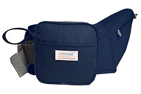 Ainomi Porte-bébé Ventral Léger Tabouret Respirant avec Siège de Hanche  Multi Positions Confortable pour 9b82456837f
