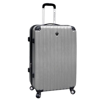 travelers-club-luggage-hardside-check-in-luggage-silver-one-size