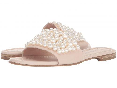 Kennel & Schmenger(ケネルシュメンガー) レディース 女性用 シューズ 靴 サンダル Elle Pearl Slide - Nude Nappa [並行輸入品]