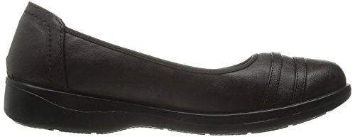Easy Street Womens Measure Flat Brown Stretch 3mz6fXc