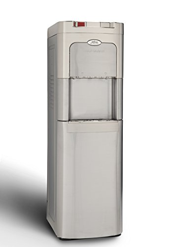 Glacial Maximum Stainless Self Cleaning Base Load Water Cooler with Hot & Cold Water Dispenser by Glacial