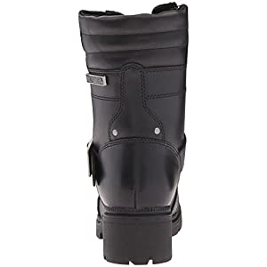 Harley-Davidson Women's Talley Ridge Motorcycle Boot, Black, 8 M US