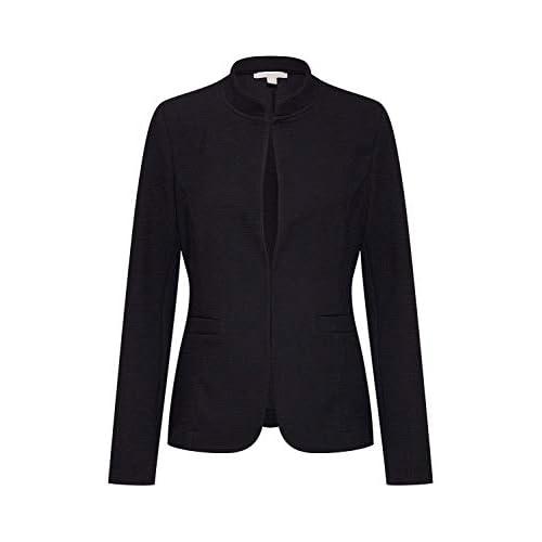 chollos oferta descuentos barato Esprit 999ee1g801 Chaqueta Punto Mujer Negro Black 001 Medium