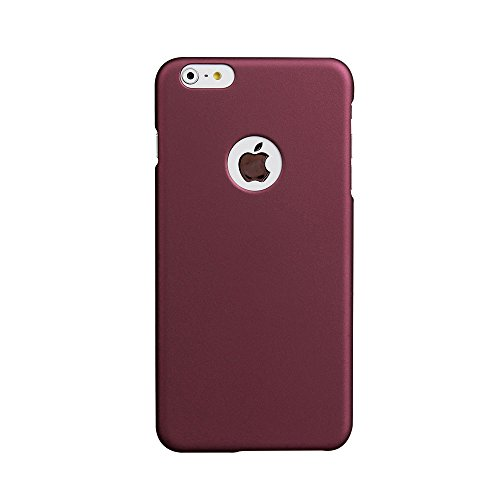 iPhone 6s Case, Acewin [Exact-Fit] iPhone 6s (4.7) Ultra Thin Fit Slim Case Soft Finish Coated Surface with Premium Matte Hard Case Cover for iPhone 6s (Purplish Red)