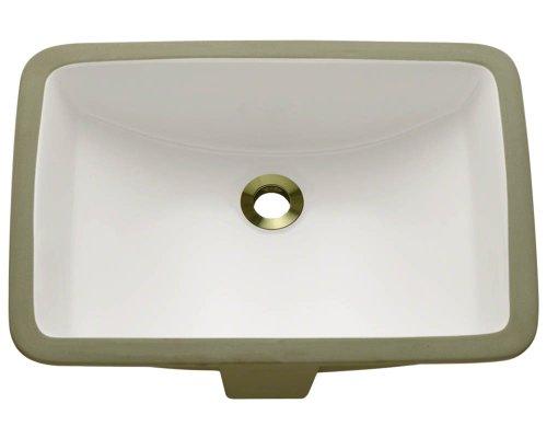 Bisque Porcelain Sink - 7