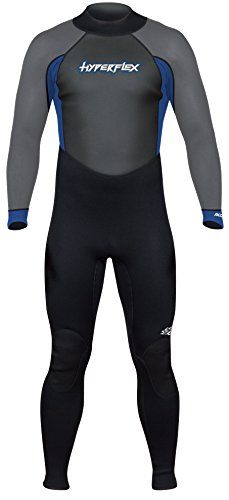 Hyperflex Wetsuits Men's Access 3/2mm Full Suit - (Blue, - Wetsuit Xl