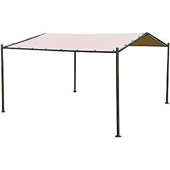 Abba Patio Portable Outdoor Canopy Garden Gazebo, 13u0027 X 11.5u0027, ...
