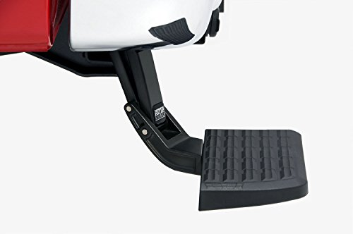 (AMP Research 75313-01A Black Bumper Step (BedStep Flip Down))