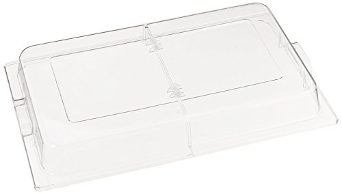 Winco C-DPFH Polycarbonate Dome Hinged Cover, Full Size