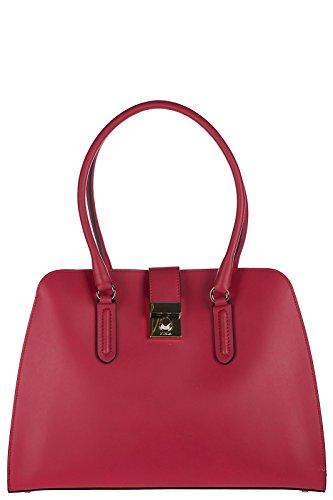 Furla bolso de mano para compras en piel mujer nuevo milano rojo
