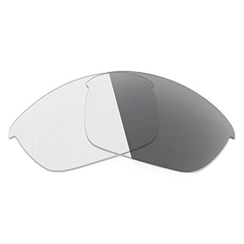 2 Adapt - Revant Replacement Lenses for Oakley Half Jacket 2.0 Elite Adapt Grey Photochromic