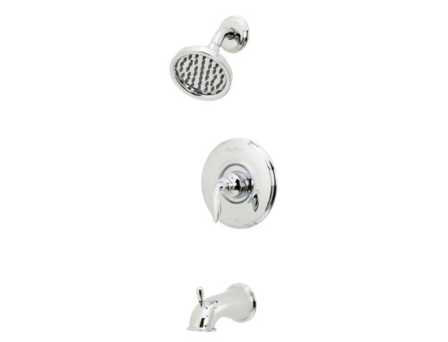 Pfister 808-WSCB0C Avalon 1-Handle Tub & Shower Faucet in Polished Chrome, 2.0gpm