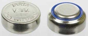 V384 Watch Battery, 1.55v 38 mAh - V384101111 by Varta