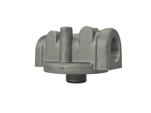 Hydraulic Filter Head - Prince FB1320-00 Filter Head, Cast Aluminum, 25 psi Bypass Spring, 45 gpm, 1-1/4