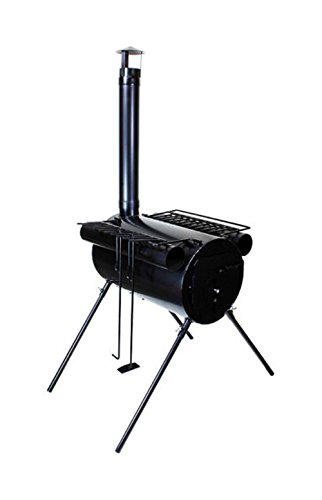 ice fishing wood stove - 7