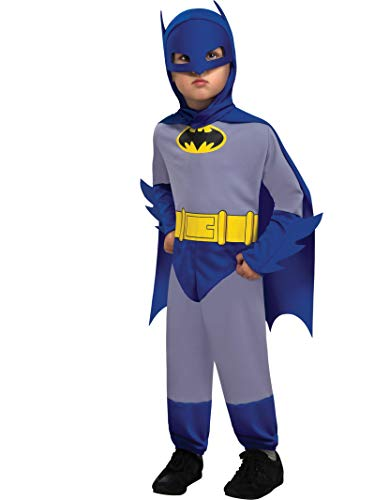 Rubie's Costume Co 885794R Toddler Blue and Gray Batman Costume]()