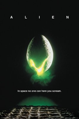 ALIEN MOVIE POSTER - Sigourney Weaver - ALIENS