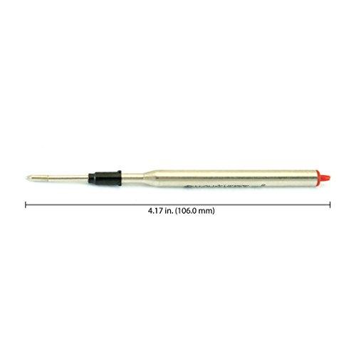 Monteverde Soft Roll Ballpoint Refill for Lamy Ballpoint Pens, Brown, 2 Pack (L132BN) Photo #2