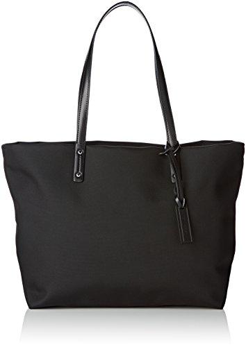 Le Tanneur Sac porté épaule Swana Uni TWU1607, 16x32x34,5 cm (W x H x L) Noir (N7)
