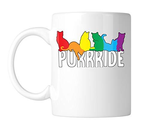 SpiritForged Apparel Purrride 11oz White Coffee Mug (1 Mug)]()