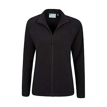 Mountain Warehouse Raso Womens Fleece - Microfleece Ladies Sweater Top, Breathable Baselayer, Soft Touch, Warm - Best… 4