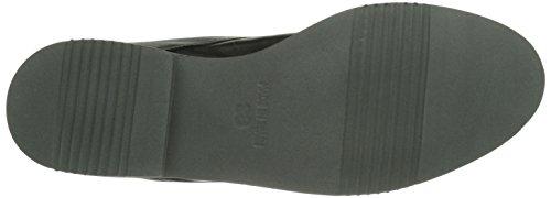 Tamaris 25158 - bota chukka de piel mujer negro - negro