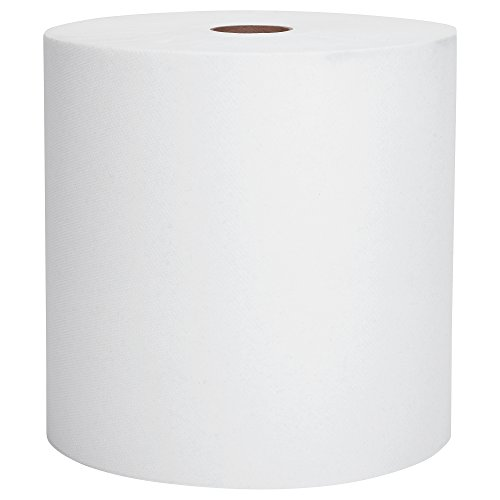 Scott Essential Hard Roll Paper Towels (01040), White, 800' / Roll, 12 Rolls / Case, 9,600' / Case ()