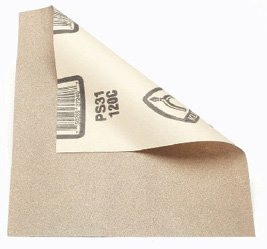 Sandpaper 9x11 Aluminum Oxide Open Coat Ps31 P100c 25/Pk
